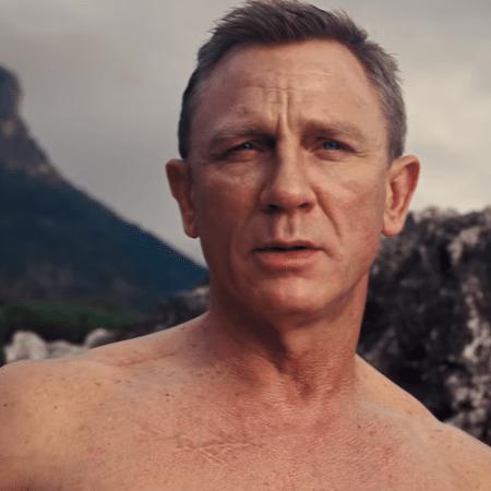 Daniel Craig em cena de '007 - Sem Tempo Para Morrer' - Reprodução/YouTube - Reprodução/YouTube