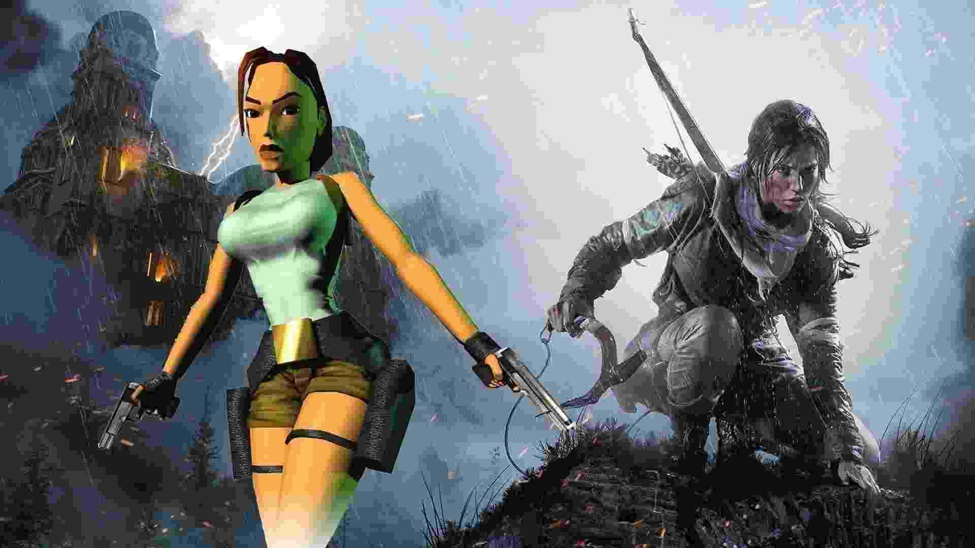 Lara Croft - Reprodução