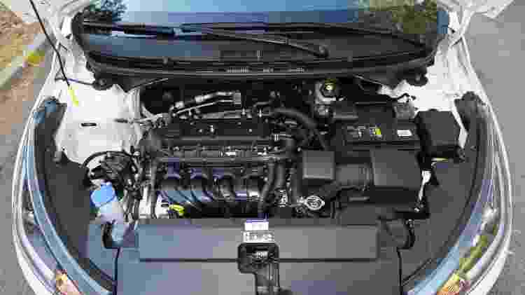 Motor 1.6 16V entrega até 130 cv e 16,5 kgfm - Murilo Góes/UOL