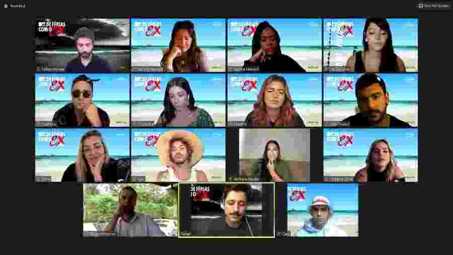 MTV realiza evento online para divulgar nova temporada do De Férias com Ex Brasil - Reprodução