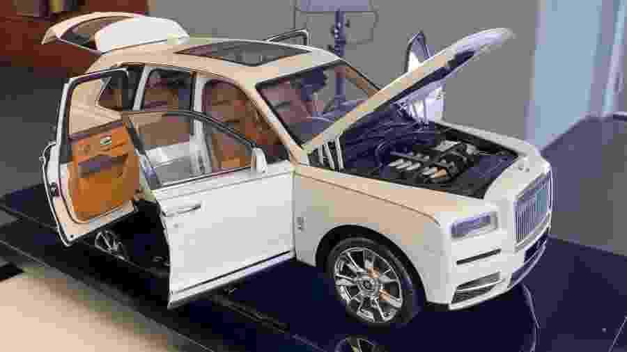 Réplica do Rolls-Royce Cullinan - Reprodução