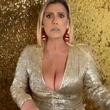 Rita Cadillac se incomoda com pedidos de nude na internet - Reprodução/Instagram