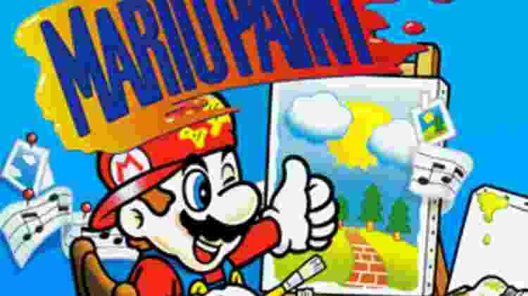 Mario Paint - Divulgação/RetrogameCases - Divulgação/RetrogameCases
