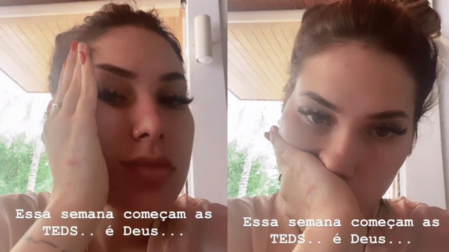 Virginia Fonseca brincou com sua reação ao receber a conta de chá revelação do primeiro filho - Reprodução/Instagram/@virginia
