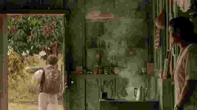 Abel saiu de casa para tentar a sorte no garimpo - BRENO POMPEU/DIVULGAÇÃO via BBC - BRENO POMPEU/DIVULGAÇÃO via BBC