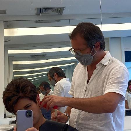 Mariana Godoy compartilhou fotos no cabeleireiro - Reprodução
