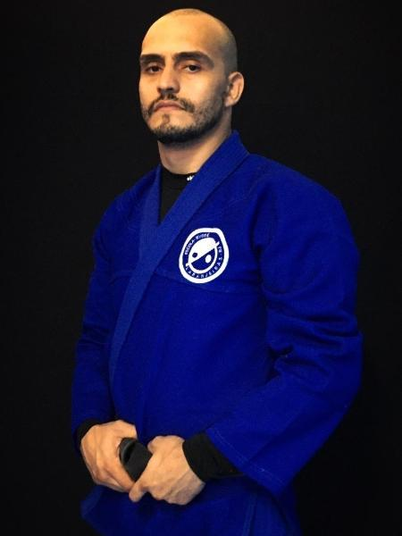 O mestre em artes marciais Emídio Ulisses de Souza conseguiu equilibrar seu temperamento explosivo com ajuda do esporte - Arquivo pessoal