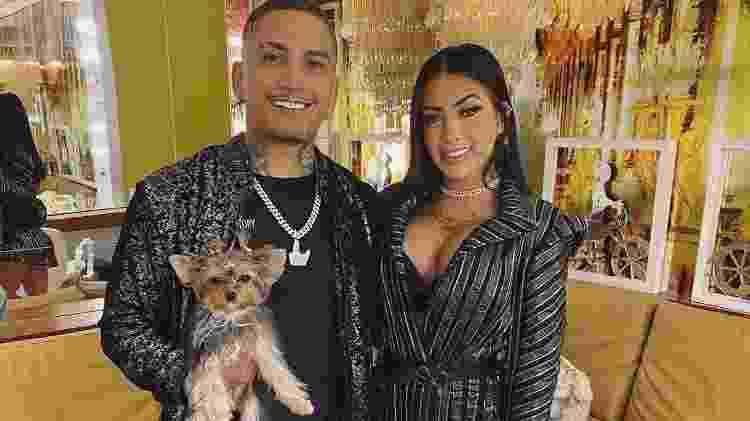Dynho Alves e a mulher, MC Mirella - Reprodução/Instagram - Reprodução/Instagram