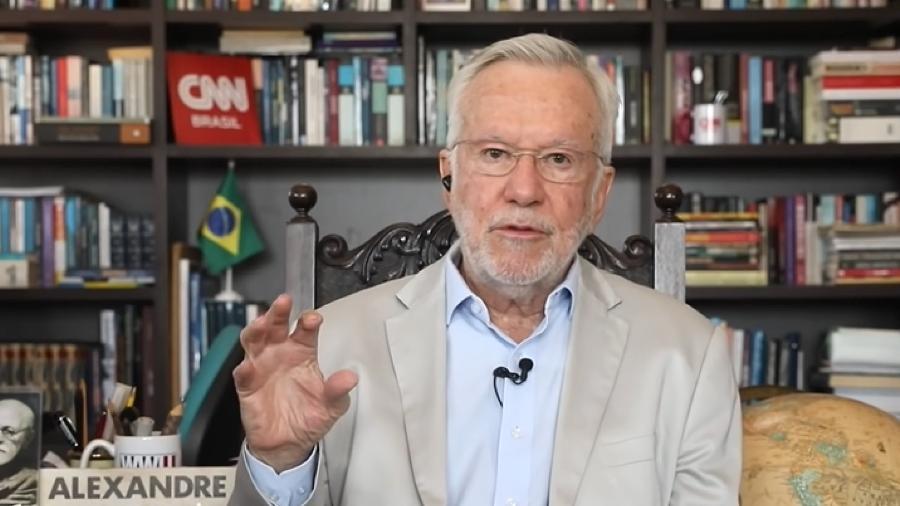 """Alexandre Garcia no quadro """"Liberdade de Opinião"""" da CNN Brasil - Reprodução/YouTube"""