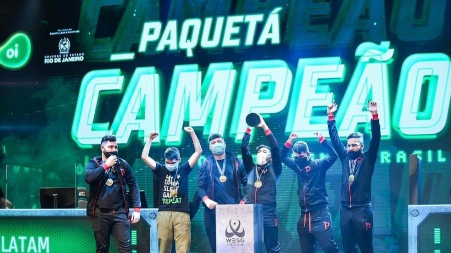 Paquetá Gaming, campeã da WESG LATAM 2021 - Arikaye/WESG