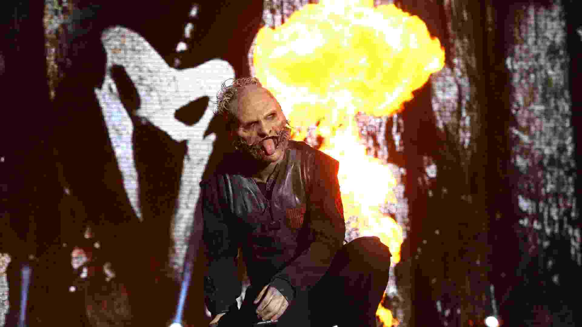 25.set.2015 - Slipknot fecha as apresentações do palco Mundo no quinto dia do Rock in Rio 2015 - Fernando Maia/UOL