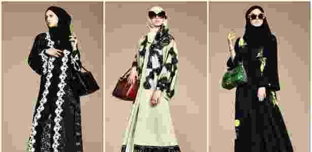 A grife Dolce & Gabbana lançou coleção com roupas islâmicas e foi alvo de crítica de Pierre Bergé - Divulgação
