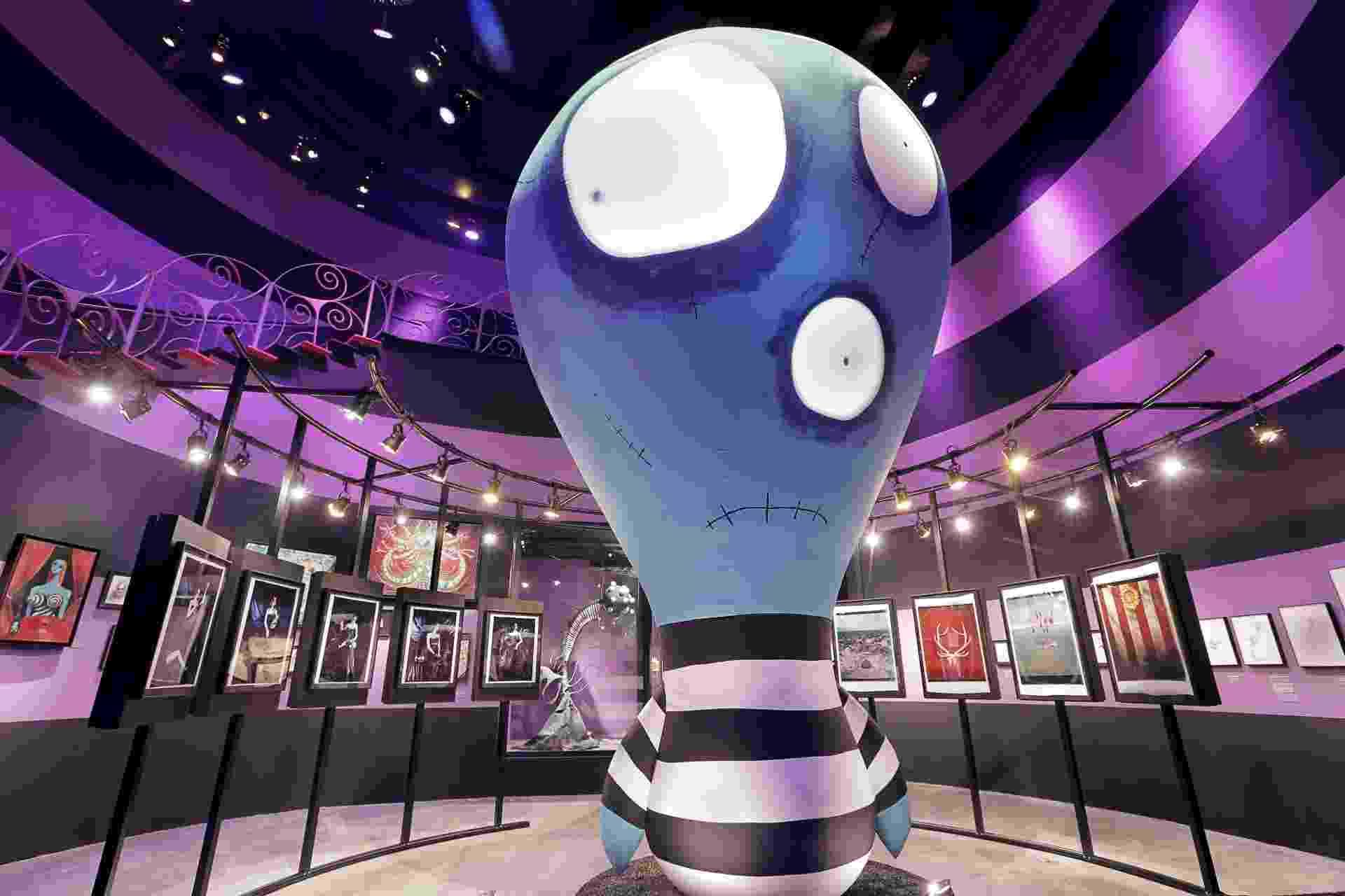 """Ala da Felicidade da exposição """"O Mundo de Tim Burton"""" - Letícia Godoy-MIS"""