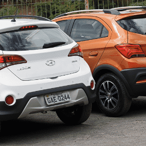 Chevrolet Onix Activ e Hyundai HB20X - Murilo Góes/UOL