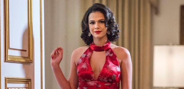 Bruna Marquezine vive uma cantora de boate em série da Globo - Estevam Avellar/Divulgação/TV Globo