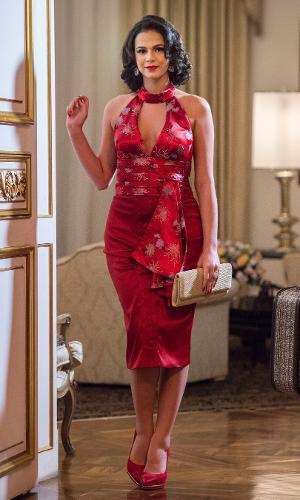 28.dez.2015 - Bruna Marquezine vive Beatriz, uma cantora de boate, na série