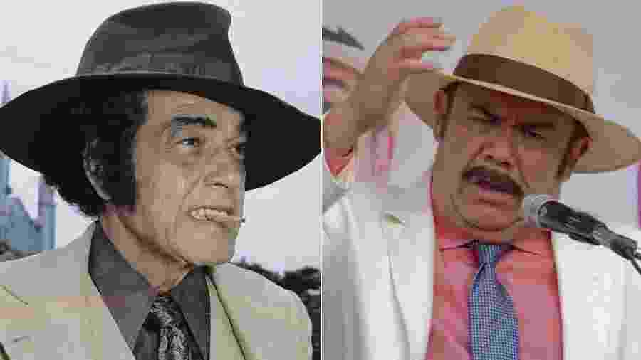 """Clássico da teledramaturgia brasileira, """"O Bem-Amado"""" virou novela mexicana. O canal Las Estrellas, da Televisa, estreou em 23 de janeiro """"El Bienamado"""", sua versão da trama de Dias Gomes, produzida pela Globo em 1973. A política é o tema central, mas o remake tem mudanças. O Odorico latino, papel de Jesús Ochoa, não é Paraguaçu, mas Cienfuegos. A cidade também mudou: sai Sucupira, entra Loreto - Montagem/UOL"""