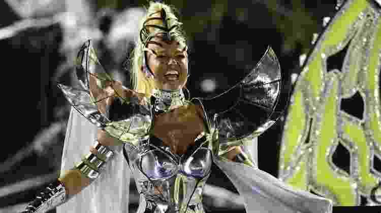 A Globo ignorou a passagem de Xuxa pela Sapucaí no Carnaval de 2017 no desfile da Grande Rio - André Fabiano/FolhaPress