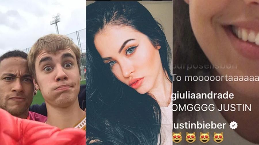 Justin Bieber é amigão do Neymar e já seguiu a vice Miss Bumbum Cláudia Alende - Reprodução/Instagram