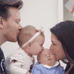 Thais Fersoza, Michel Teló e os filhos, Melinda e Teodoro - Reprodução/Instagram/tatafersoza