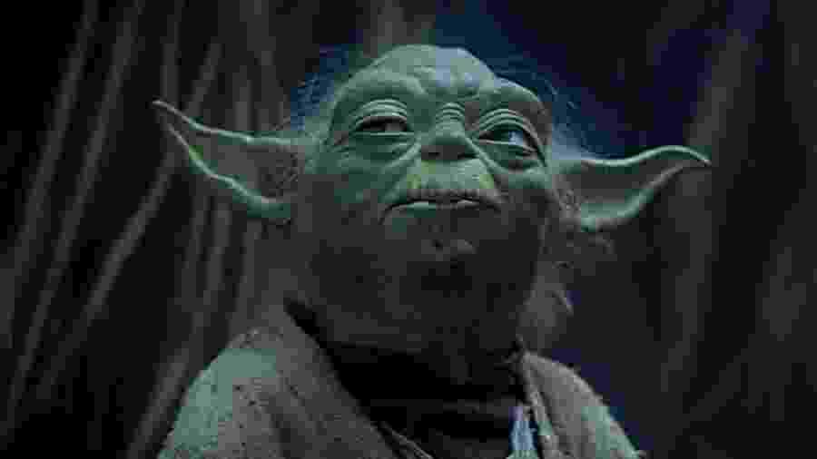 Mestre Yoda, personagem do Star Wars - Reprodução