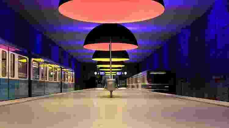 Estação de metrô Westfriedhof, em Munique  - Martin Falbisoner/Creative Commons/CC BY-SA 3.0 - Martin Falbisoner/Creative Commons/CC BY-SA 3.0
