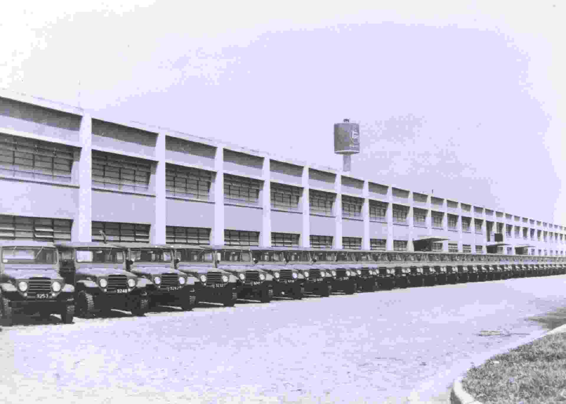 Toyota do Brasil 1963 - Divulgação