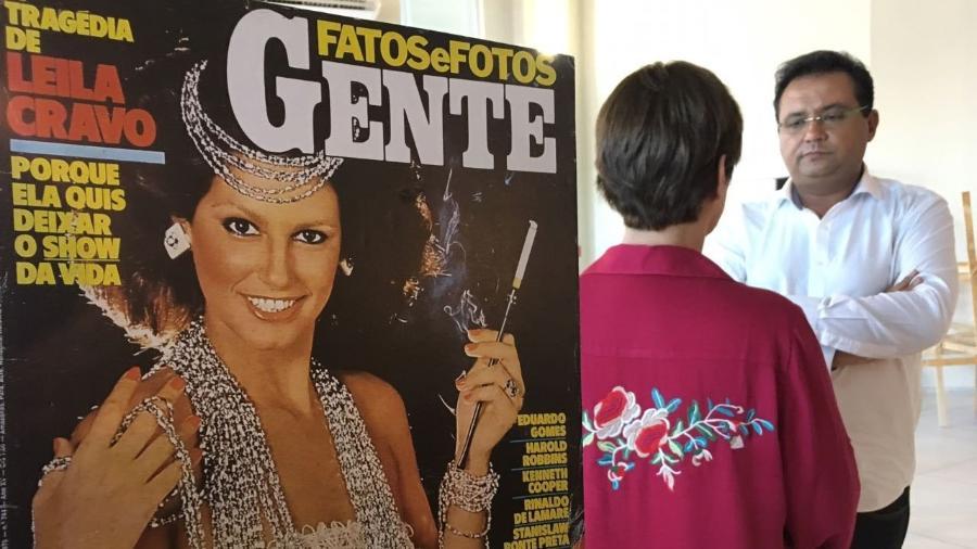 Geraldo Luis e Leila Cravo - Divulgação