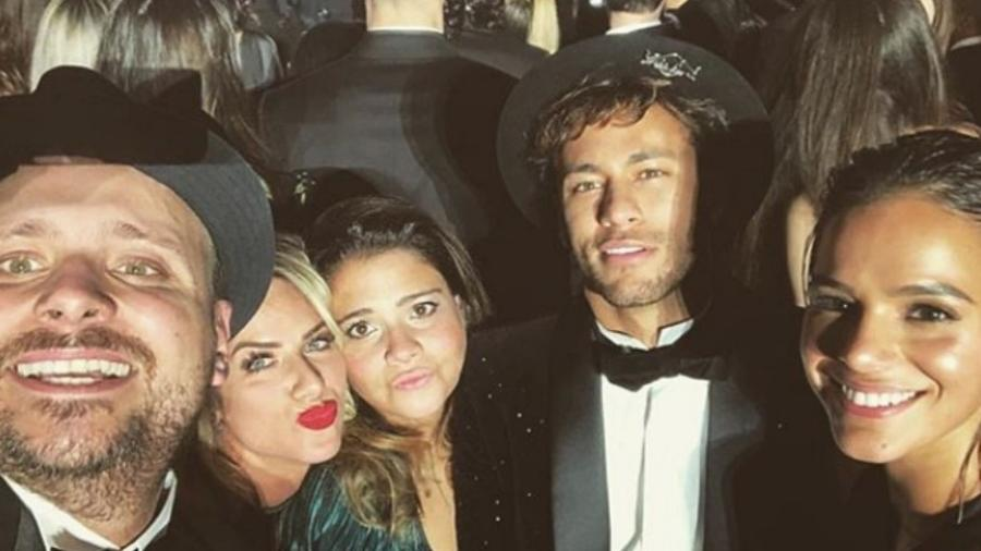 Giovanna Ewbank com Léo Fuchs, Juliana Mattoni, Neymar e Bruna Marquezine - Reprodução/Instagram/gio_ewbank