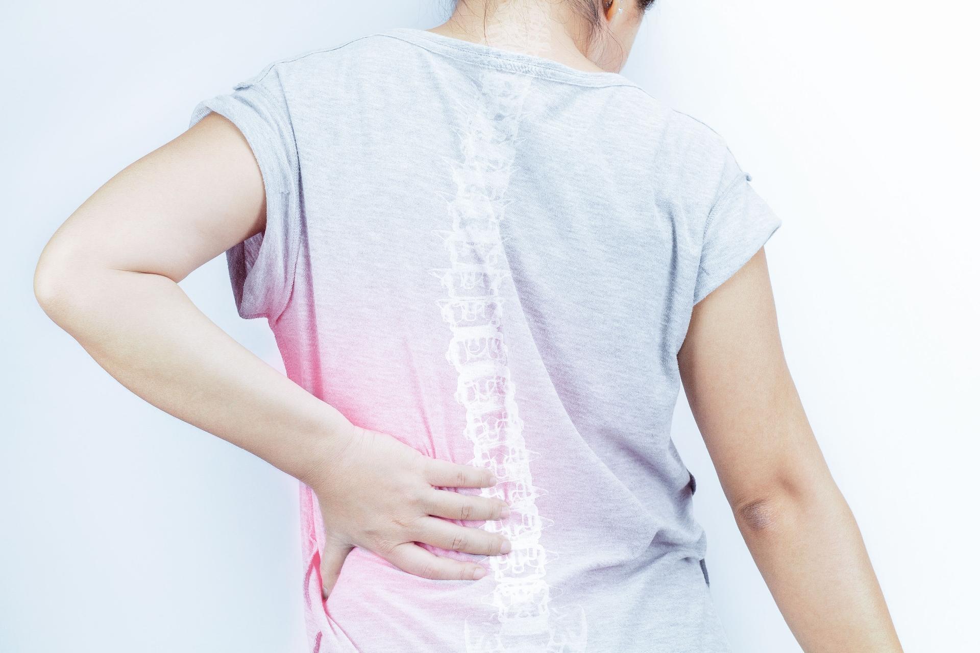 Gravidez durante direito apenas a dor lombar lado