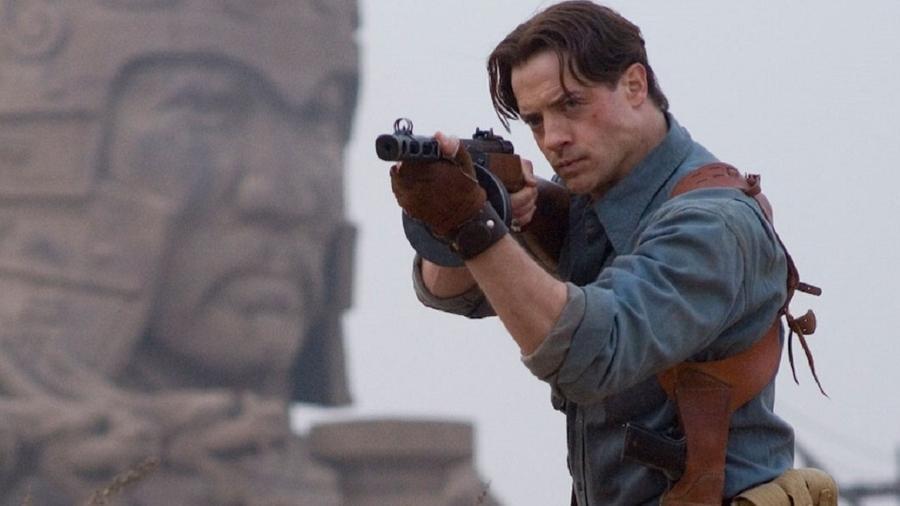 """Cena de """"A Múmia"""", um dos filmes de maior sucesso de Brendan Fraser - Divulgação"""
