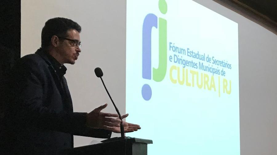 Sérgio Sá Leitão participa em Petrópolis do Fórum Estadual de Secretários e Dirigentes Municipais de Cultura do RJ - Carol Young/Divulgação