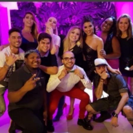 Ex-BBBs se reúnem em festa de Vivian Amorim - Reprodução/Instagram/