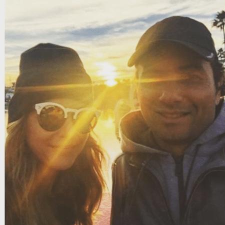Flavia Vitorino e Marco Luque - Reprodução/Instagram
