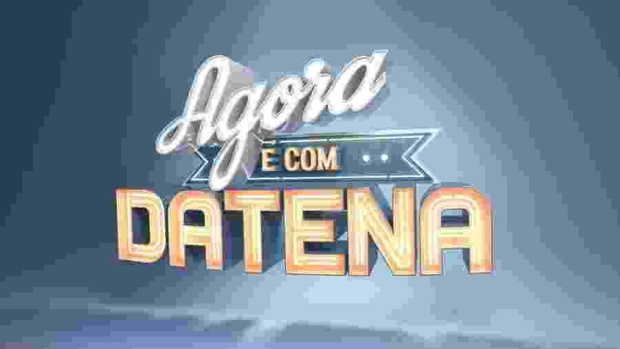 """Chamada do programa """"Agora é com Datena"""", que estreia na Band neste domingo - Divulgação"""