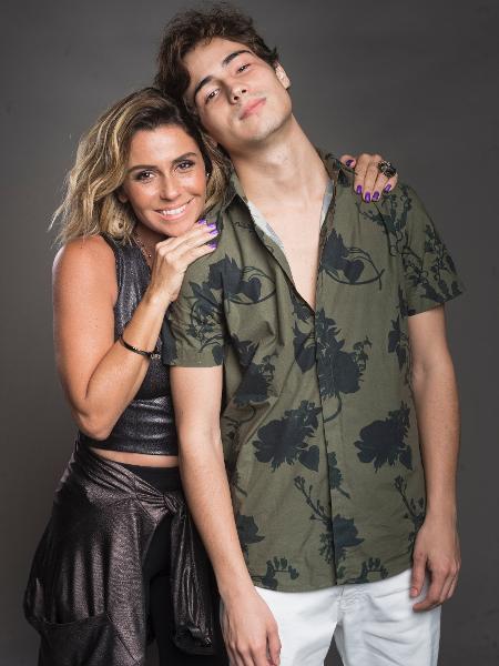 Luzia/Ariella (Giovanna Antonelli) é mãe de Valentim (Danilo Mesquita), roubado dela ao nascer - João Cotta/Globo