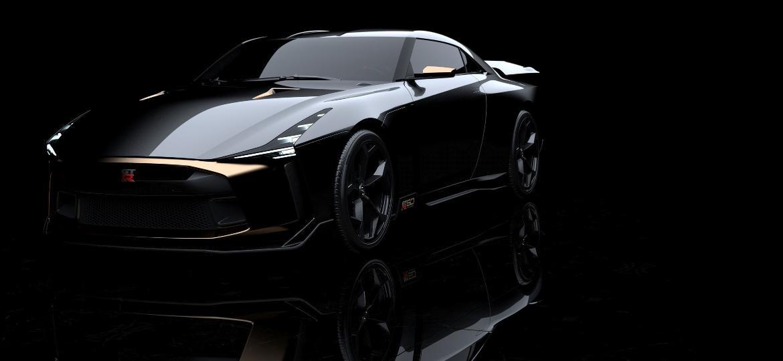 GT-R50 será feito artesanalmente por estúdio de design italiano - Divulgação