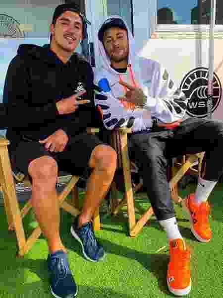 Neymar e Medina em Portugal - Reprodução/Instagram/neymar