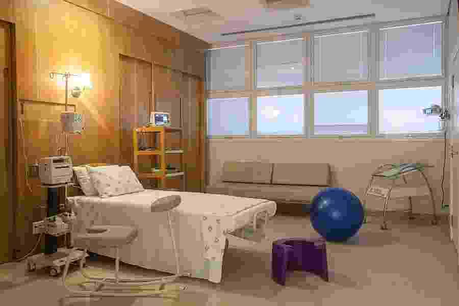 A sala de parto normal - Divulgação/Pró-Matre