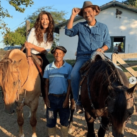 Marcos Palmeira e Juliana Paes no Rio Grande do Sul - Reprodução/Instagram