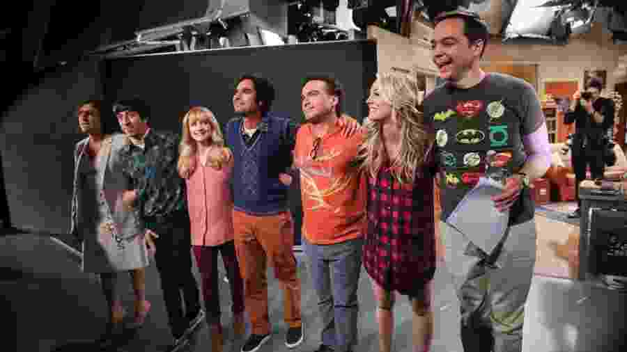 Elenco de The Big Bang Theory se despede - Divulgação