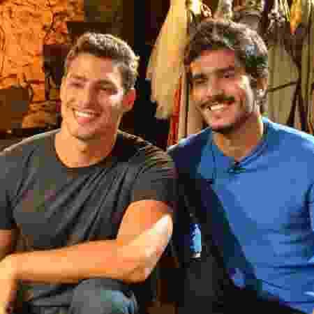 Cauã e Bruno Barros - Bruno Ribeiro/TV Brasil