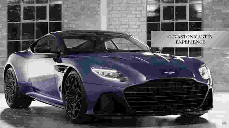 Aston Martin DBS Superleggera criado por Daniel Craig - Divulgação