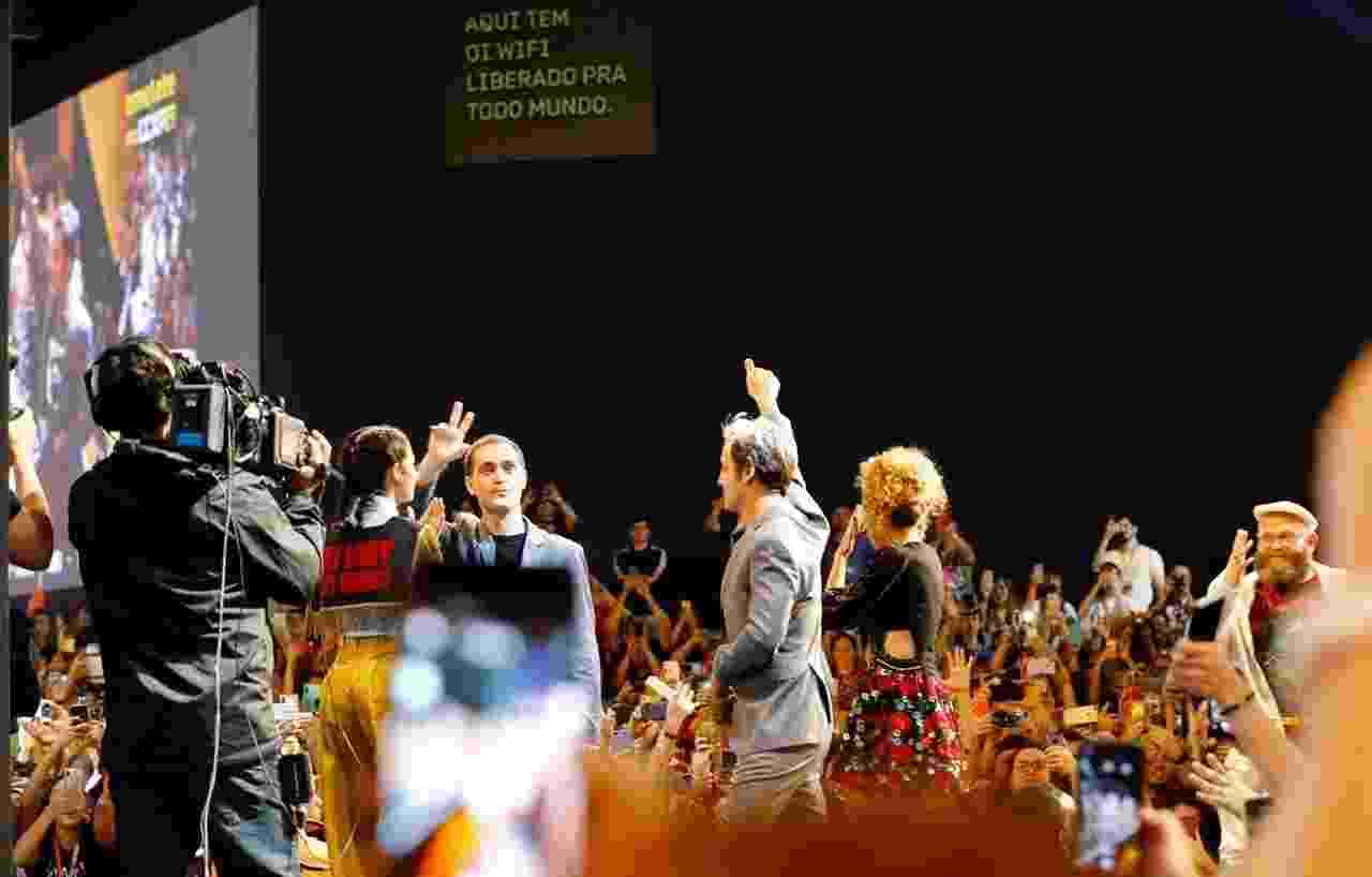 Elenco de La Casa de Papel participou de painel durante a CCXP - Mariana Pekin/UOL