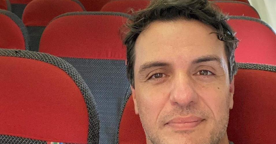 Rodrigo Lombardi: sozinho em voo