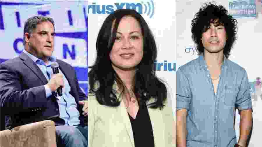 Cenk Uygur, Shannon Lee e Eugene Lee Young - Getty Images