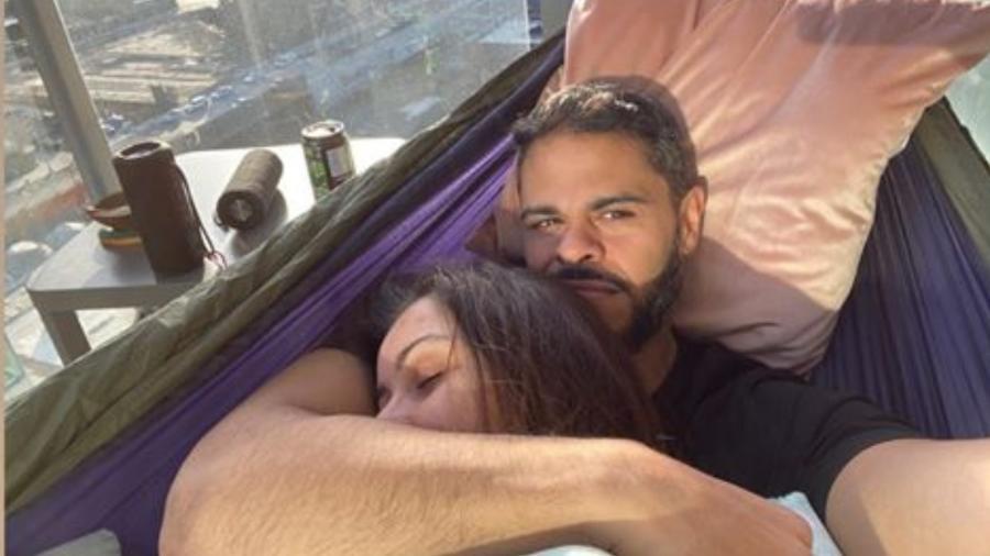Nana Gouvêa postou foto com o namorado, Marvin Martinez, no Instagram - Reprodução/Instagram