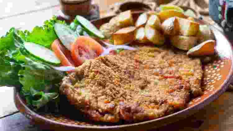 Milanesa: carne - Carlos Rojas/Getty Images/iStockphoto - Carlos Rojas/Getty Images/iStockphoto