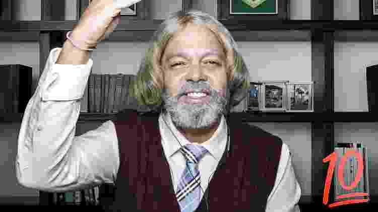 Professor Raimundo (Bruno Mazzeo) - Divulgação/Globo - Divulgação/Globo