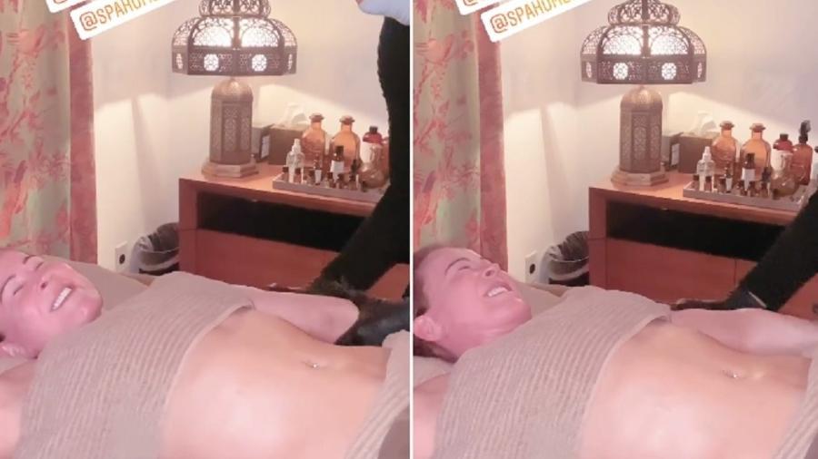 Zilu Godói em spa nos Estados Unidos - Reproduçõa/Instagram @zilucamargooficial